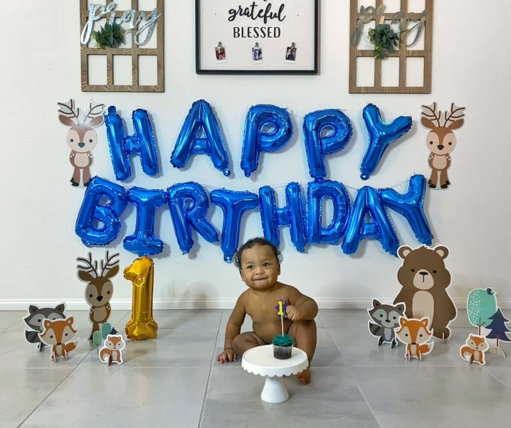 Hezekiah Champ Bethea's First Birthday