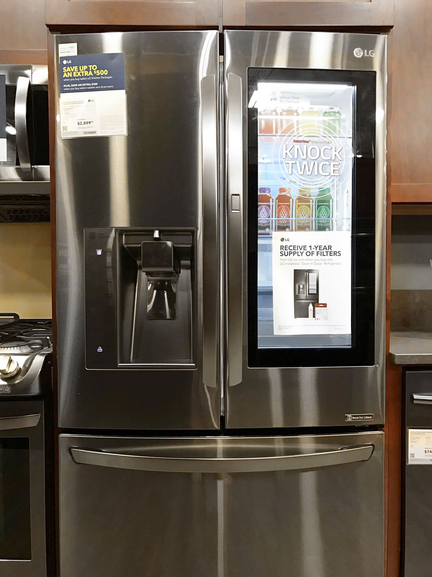 Raid The Refrigerator Without Losing Your Cool With Lg