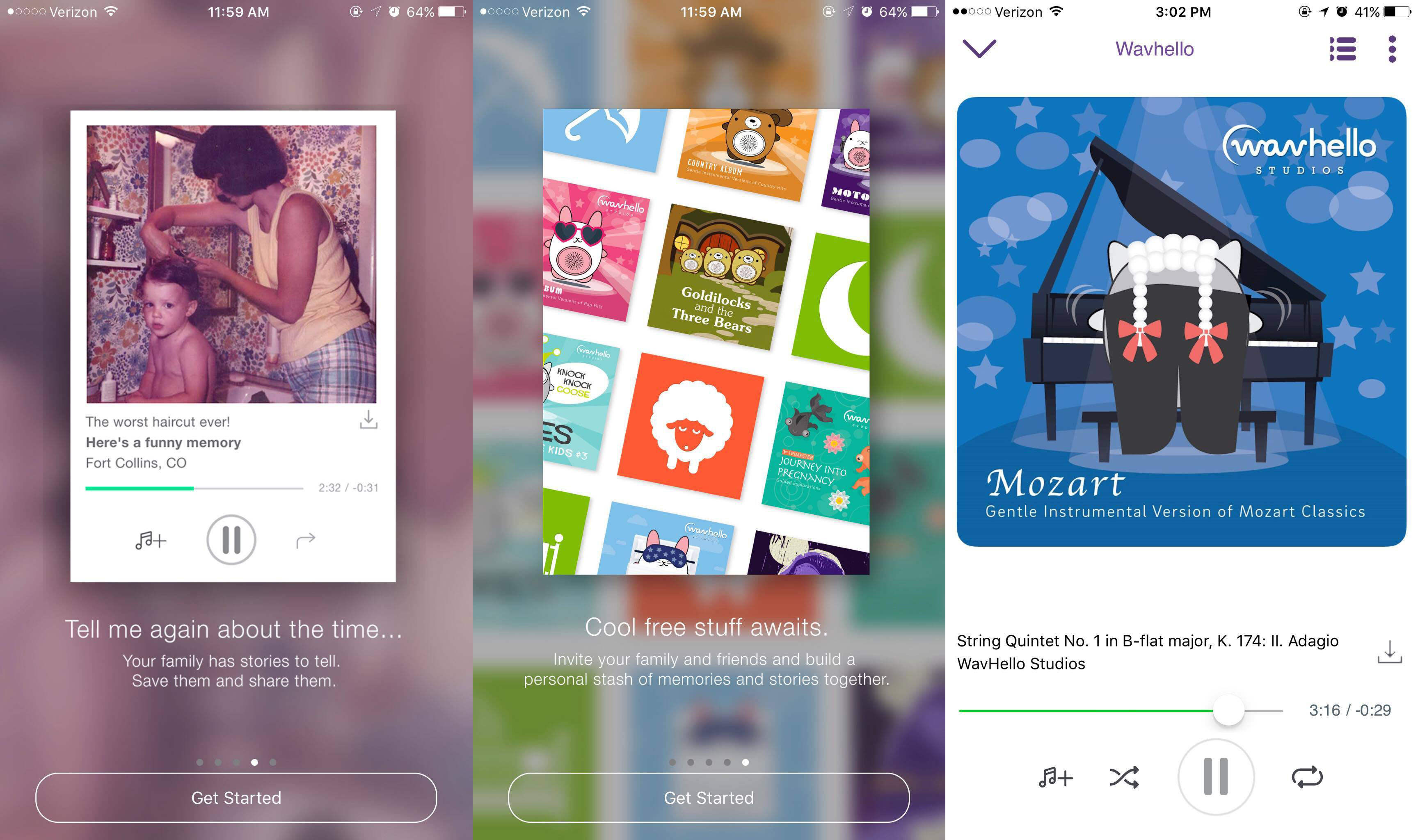 Wavhello VoiceShare app