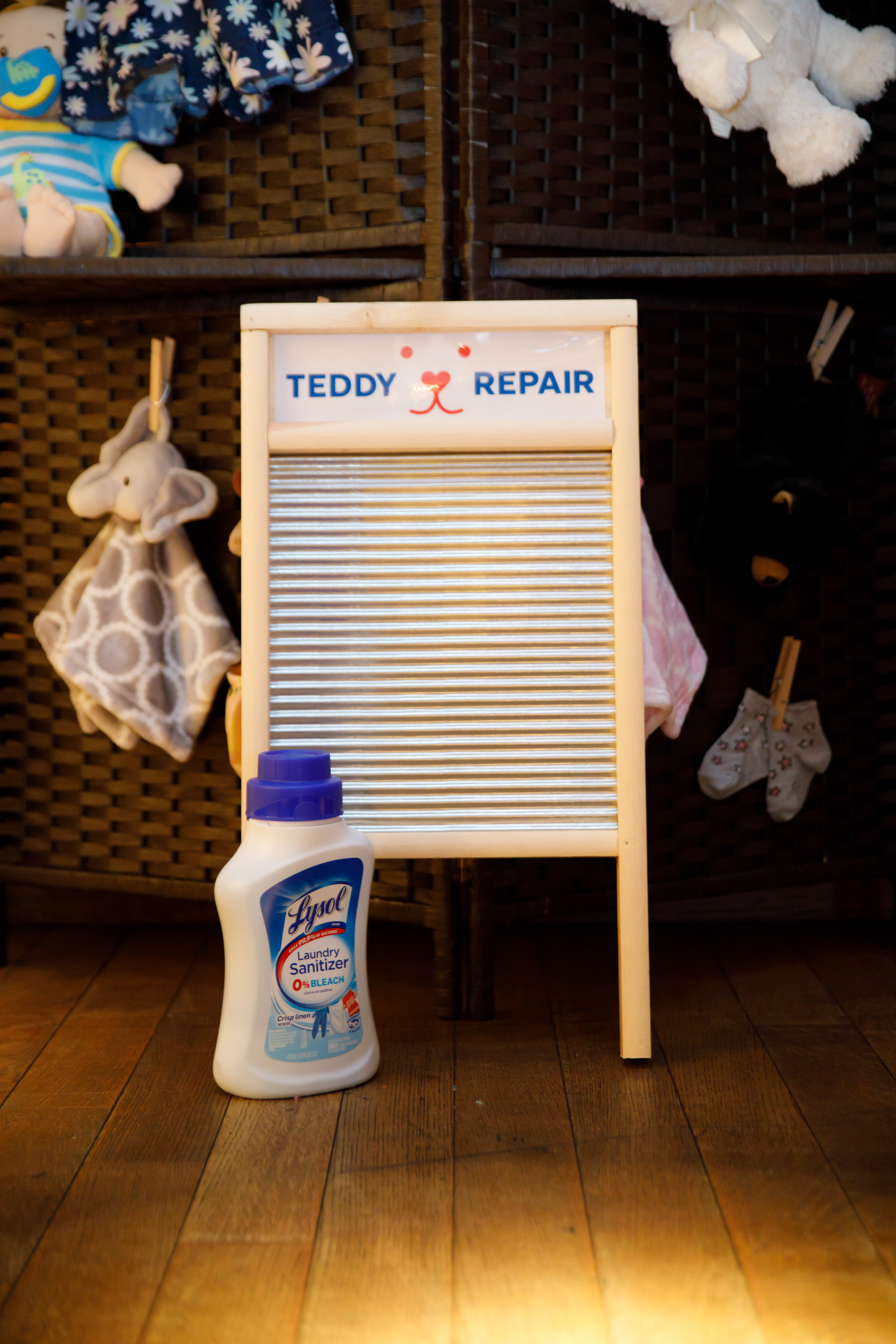 Lysol Teddy Repair Event