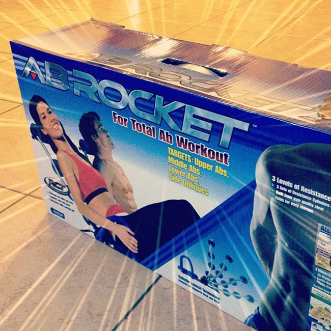 Ab Rocket Abdominal Trainer Flat Tummy