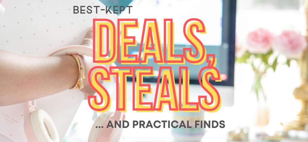 The Best-Kept Deals, Steals and Practical Finds Online