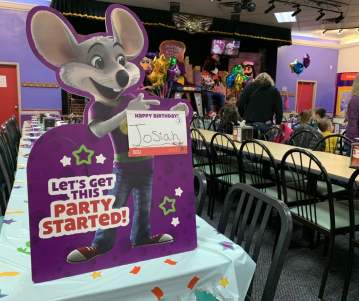 Why Celebrate a Party at Chuck E Cheese