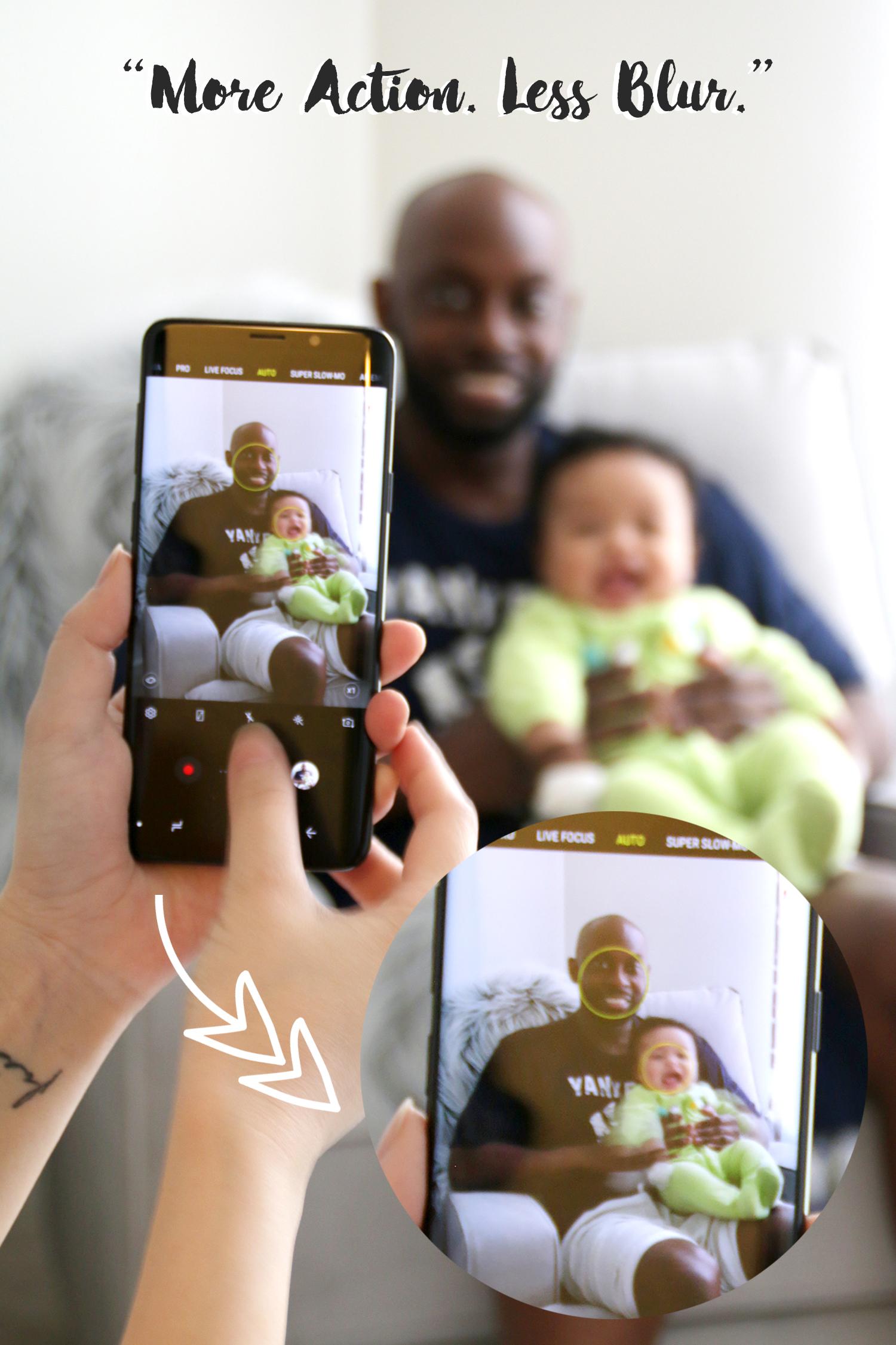 Samsung Galaxy S9+ OIS