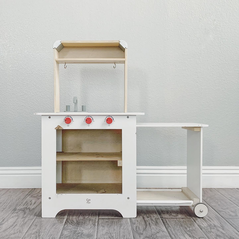 Hape Pretend Play Kitchen - before restoration