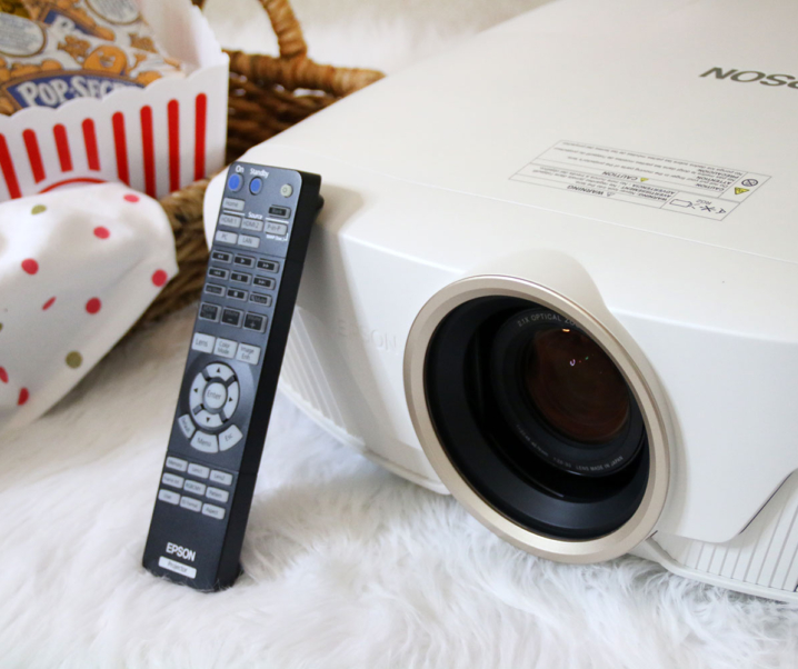 DIY Home Theatre with Epson Home Cinema 4010