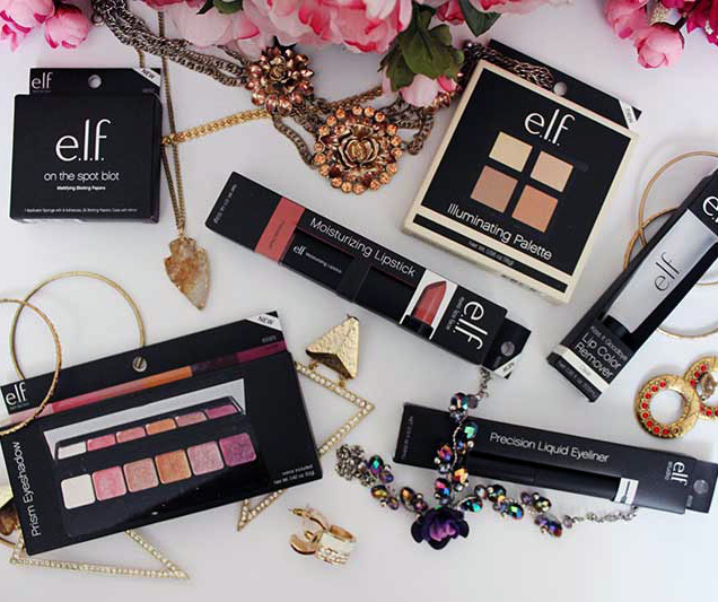 Get Your New Year Glow with E.L.F. Cosmetics and #PlayBeautifully