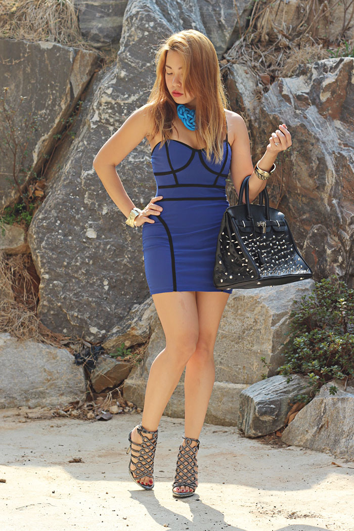 bodycon bandage fashion dress