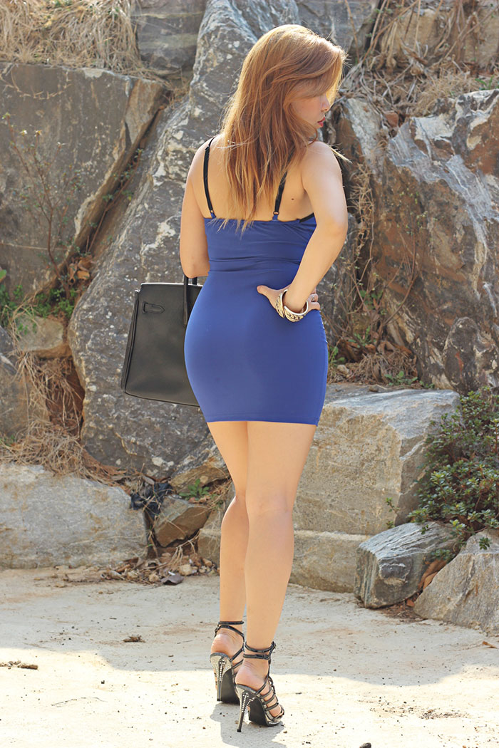 body hugging dress