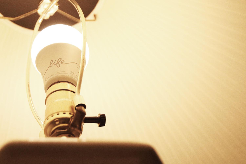 GE C-Life Light Bulb