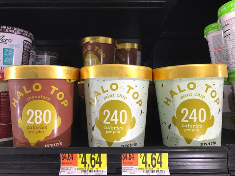 Halo Top Ice Cream