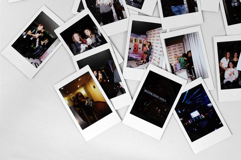 z100jingleball with Fujifilm Instax