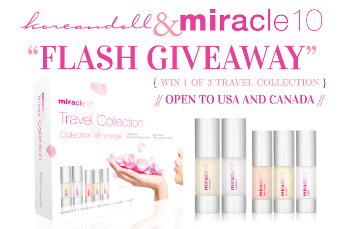 Miracle 10 Travel Collection Giveaway