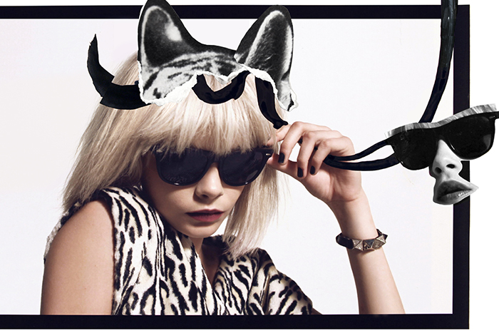 Cara DeLevinge Punk Fashion Quentin Jones