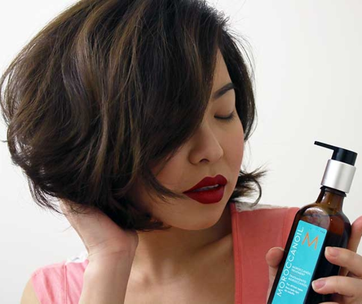 Tame Frizz and Treat Your Locks with Moroccanoil