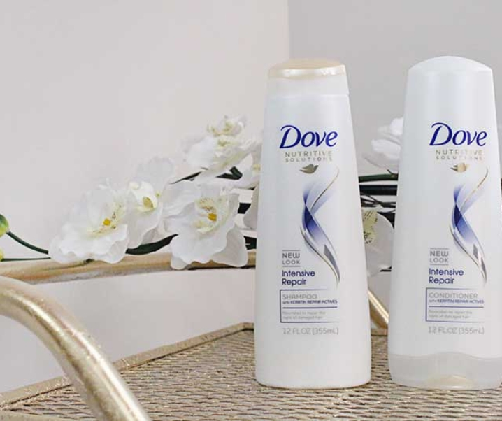 Fortify Weak, Damaged Hair with Dove Nutritive Solutions