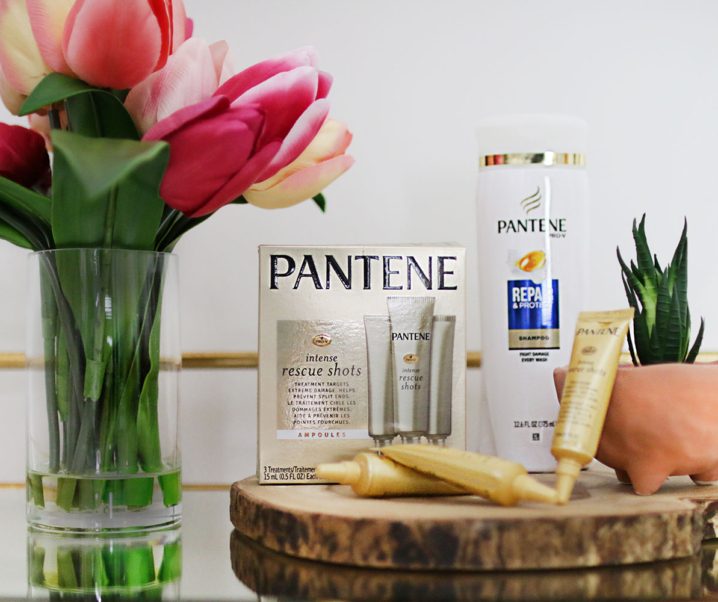 Pantene Pro-V Intense Rescue Shots -the best hair treatment for damaged hair!