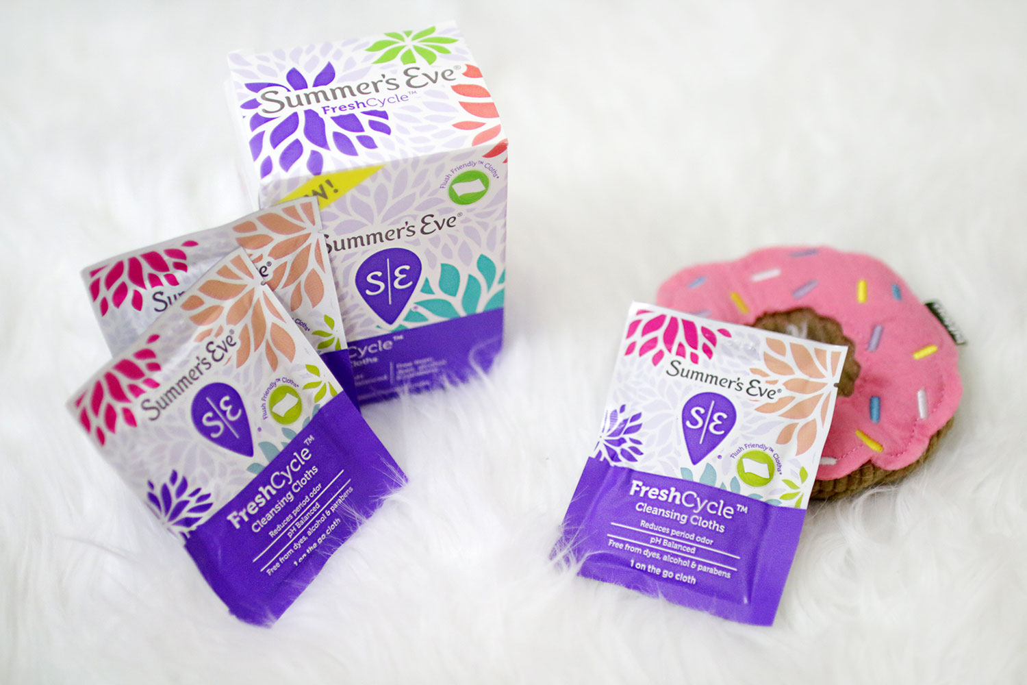 Summer's Eve FreshCycle Cleansing Cloths Individually Wrapped