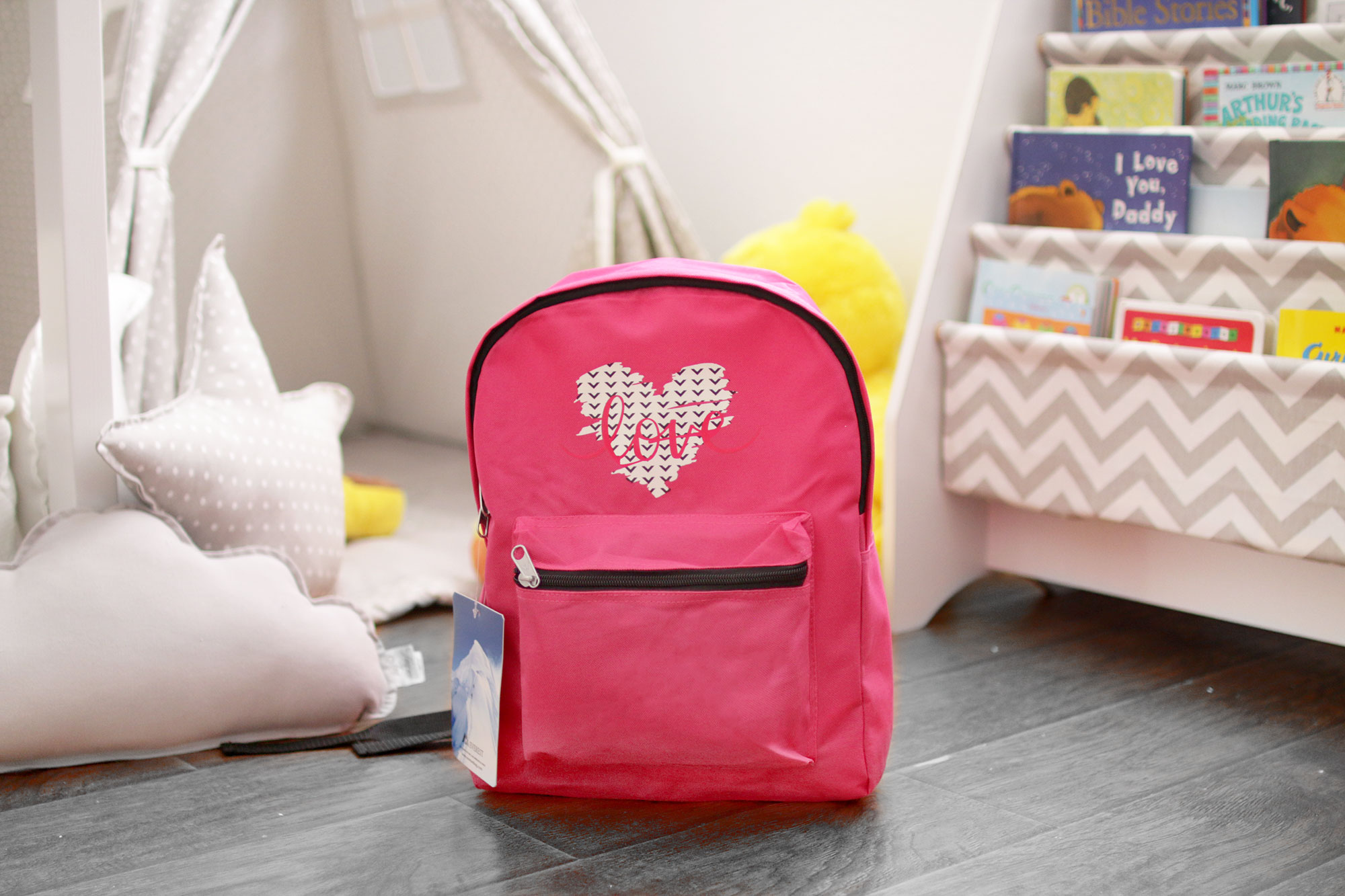cricut personalized backpack
