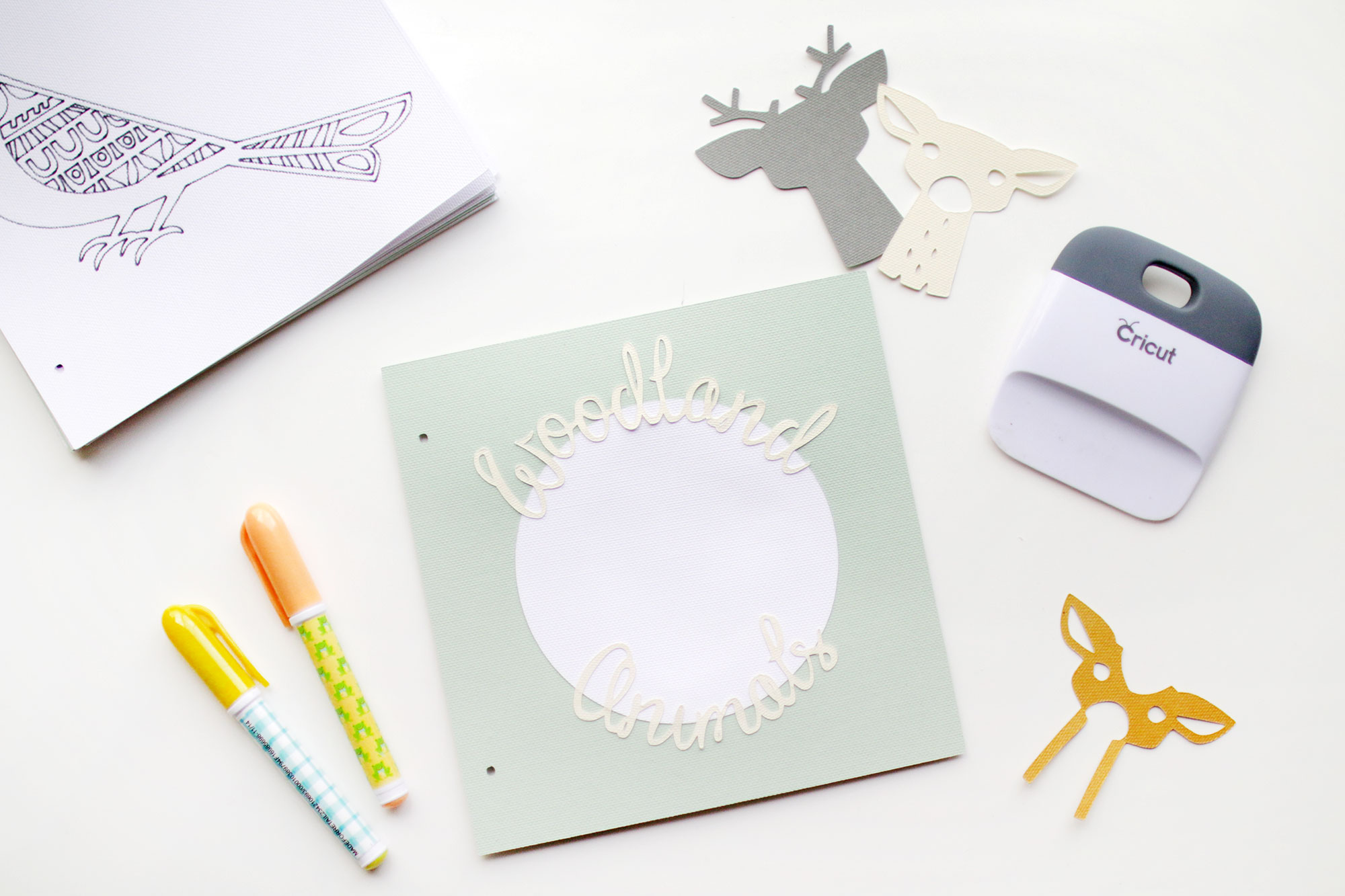 Cricut Coloring Book