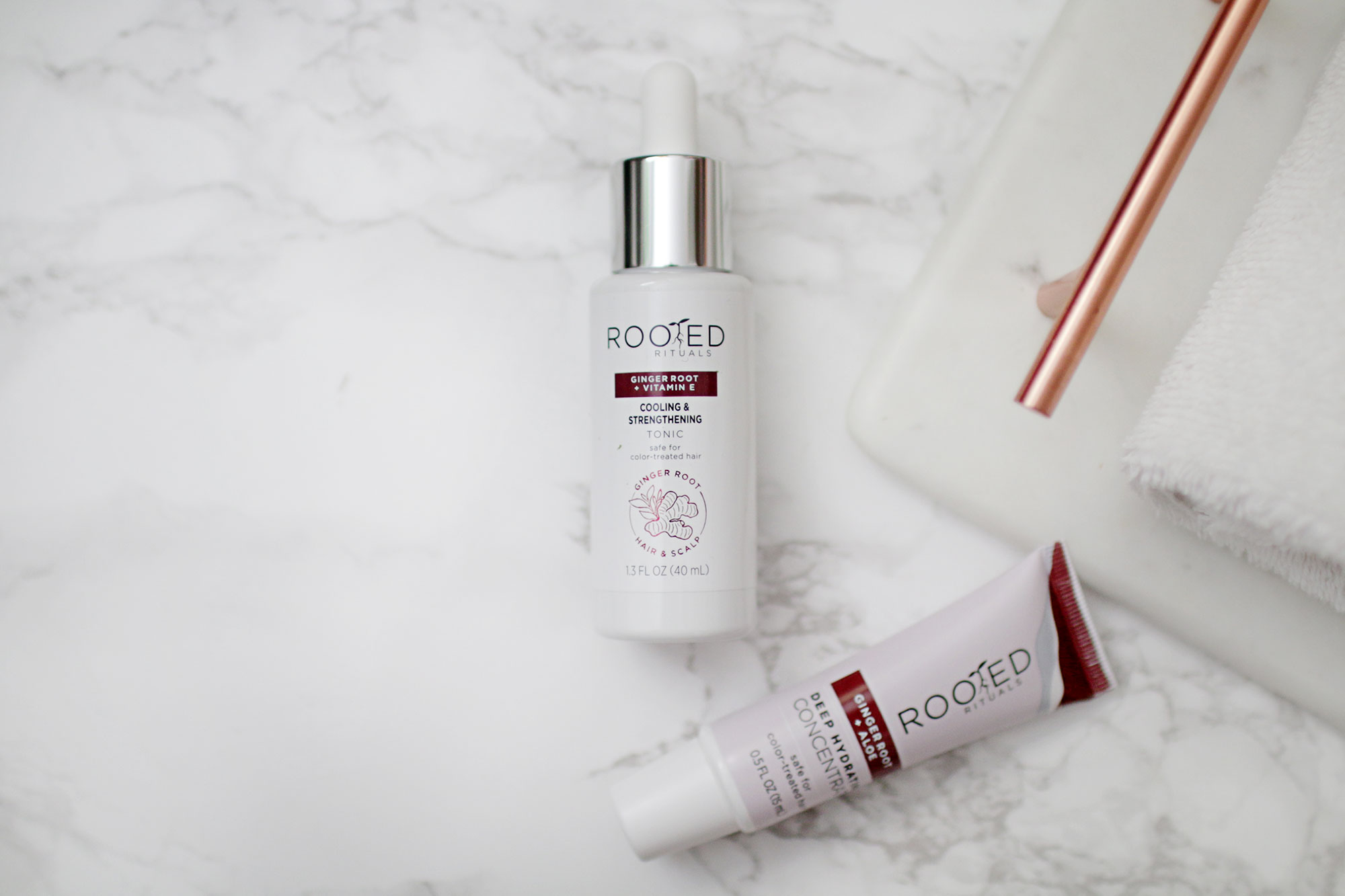 Rooted Rituals Tonic and Deep Hydrating Concentrate