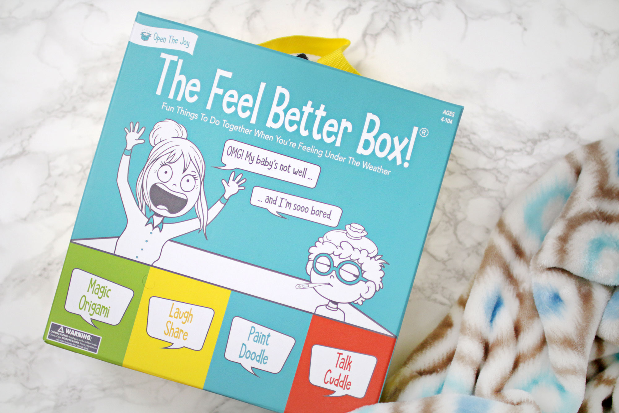 Open The Joy The Feel Better Box