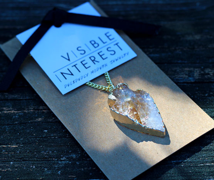 Sadie Necklace by Visible Interest