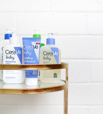 Me, You, and Cerave – A Realistic Mommy and Baby Skin Care Routine