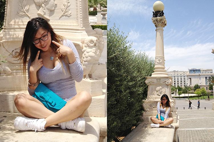 La Fille Des Fleurs koreandoll Angela Ricardo Fashion Beauty Blogger