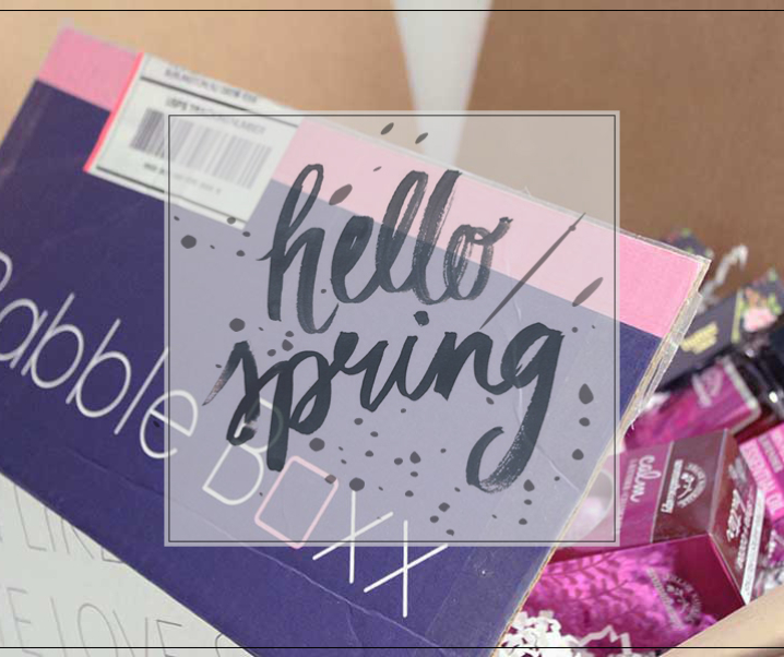 Burst into spring with the Beauty Blossom Babble Boxx