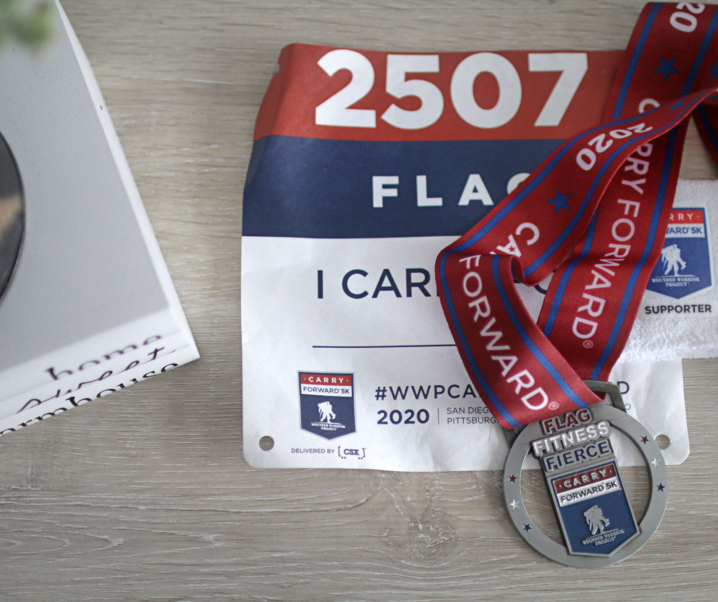 """Honoring Our Veteran's with the Wounded Warrior Project """"Carry Forward Virtual 5K"""""""