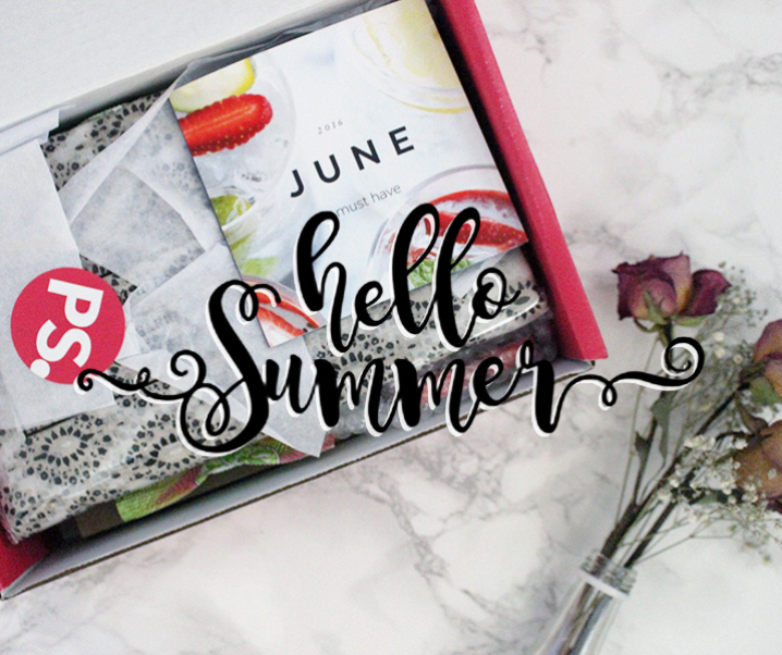 Celebrate Summer with Popsugar June Must Have Box
