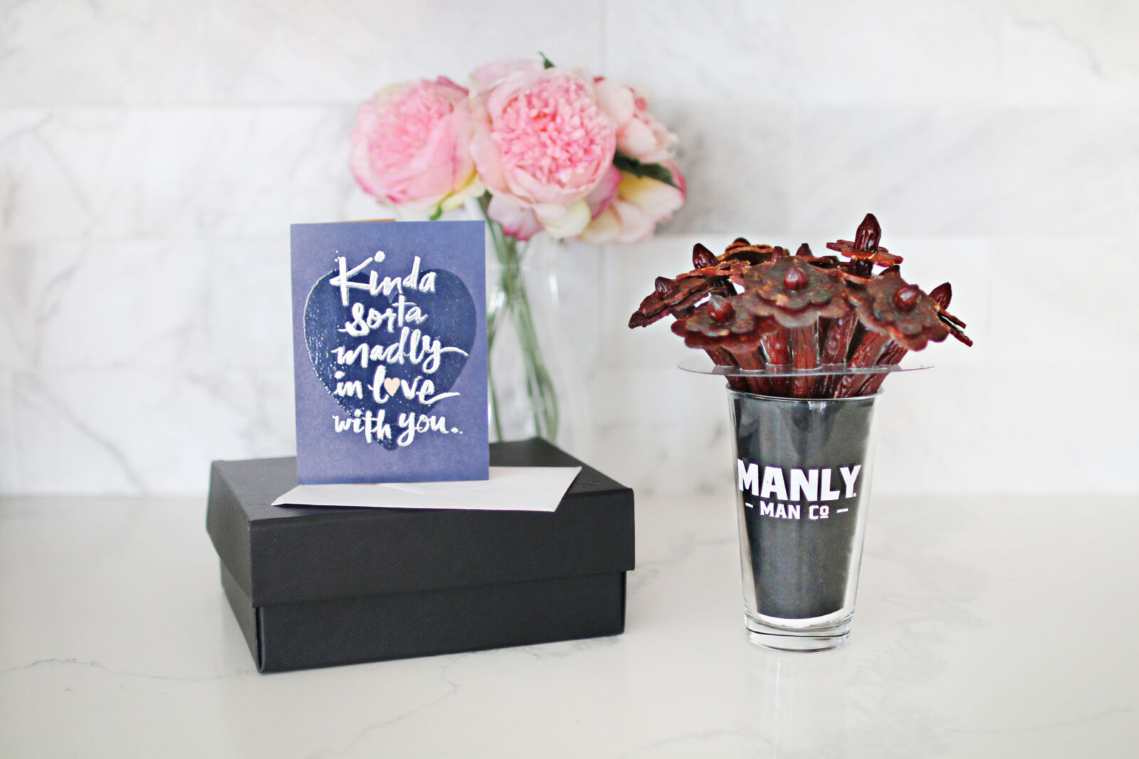 Manly Man Co Beef Jerky Bouquet