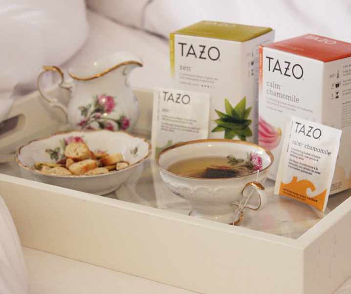 Flavor Up Your Daily Routine with Tazo Tea #SipJoyfully