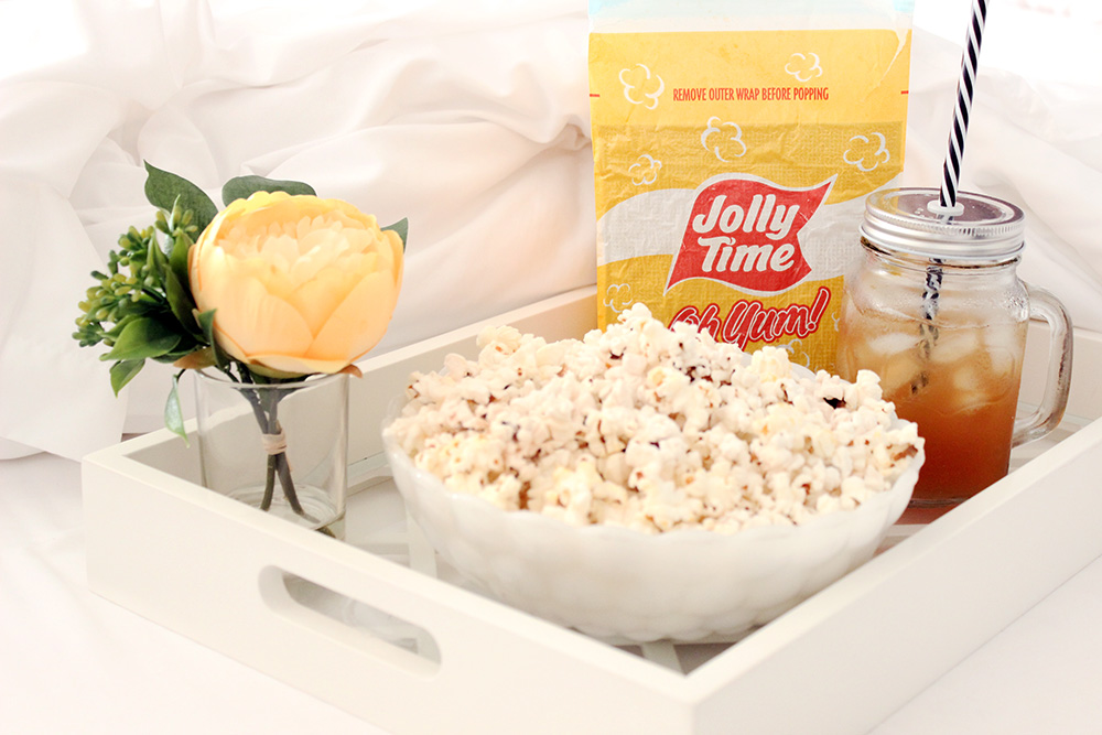 Weight Watchers popcorn