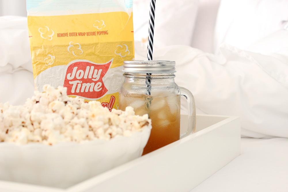 Weight Watchers popcorn