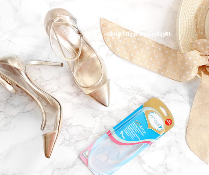 Wear Heels Comfortably with Amopé Gel Activ Insoles