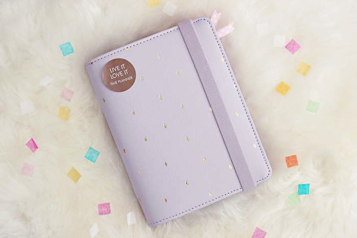 Kikki-K Leather Time Planner Medium