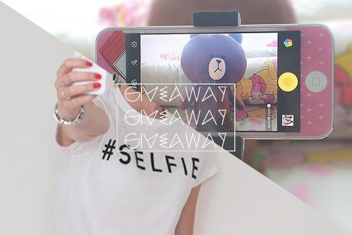Monopod & Selfie Shirt Giveaway