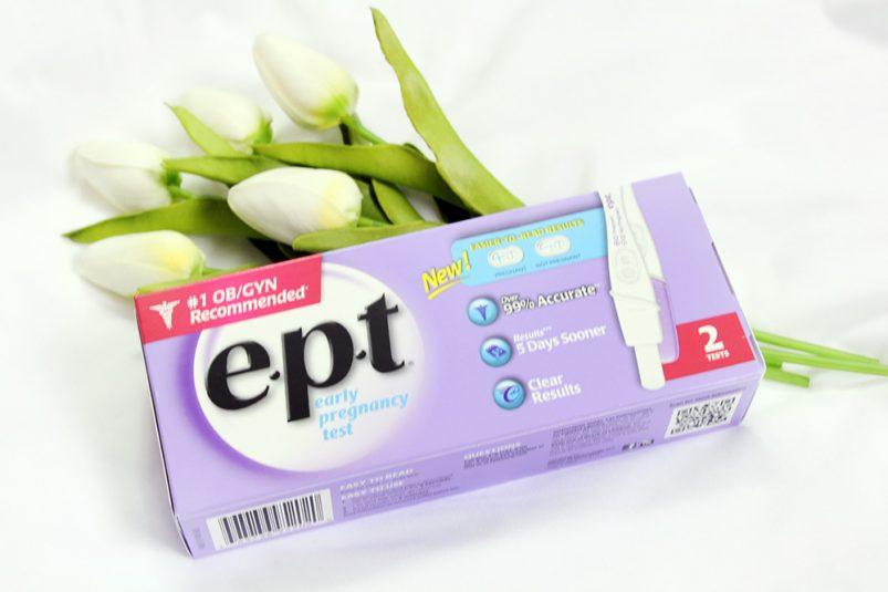 e.p.t® pregnancy test