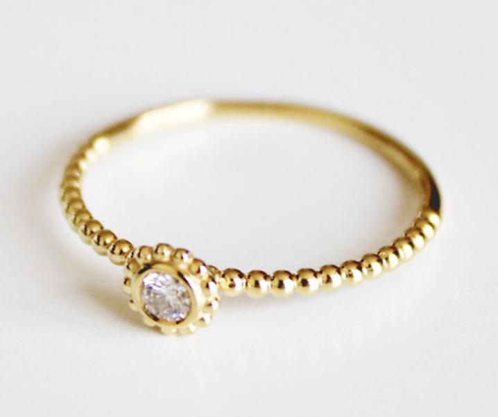 Lavish with LAGOS Covet Diamond Gold Ring