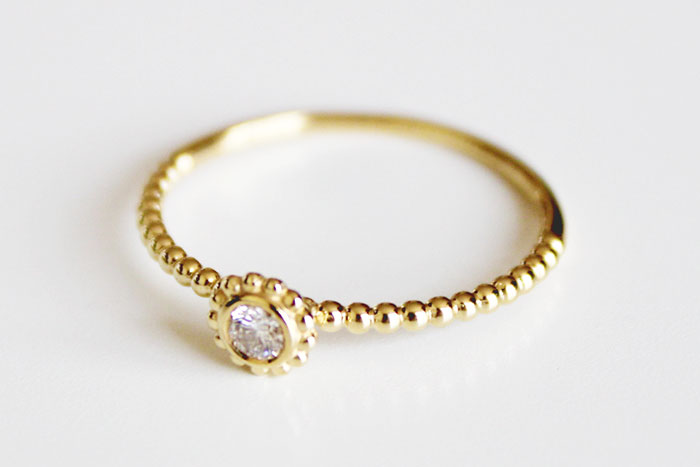 Lagos Covet Diamond Gold Ring