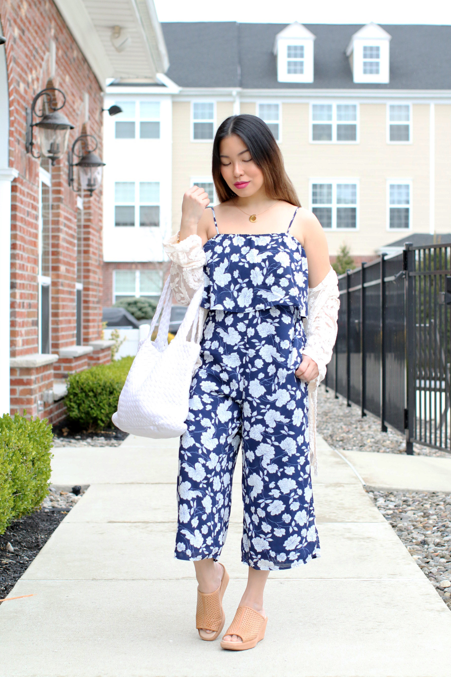 Lucca Couture Culottes Jumpsuit