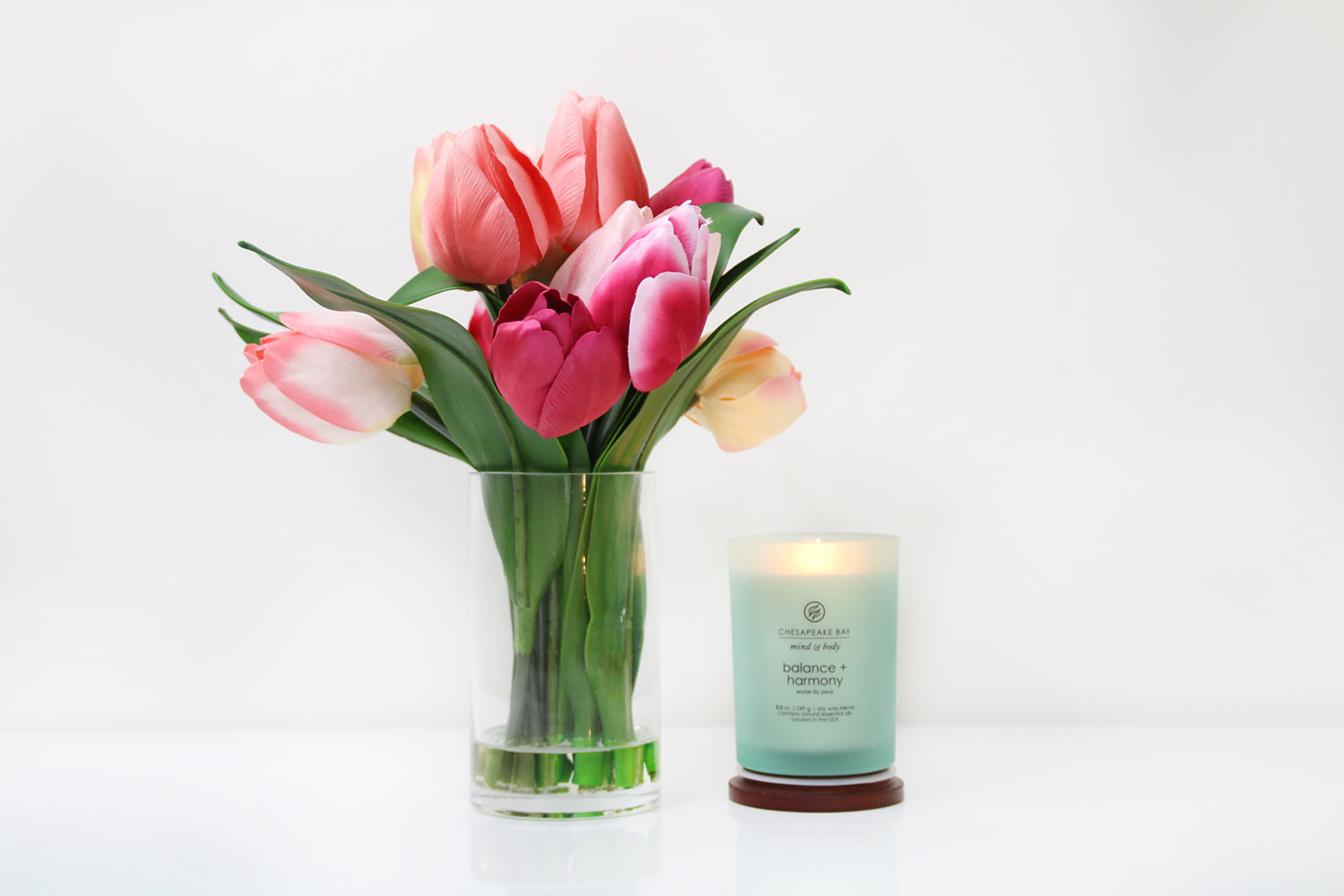 Chesapeake Bay Candles Waterlily Pearl