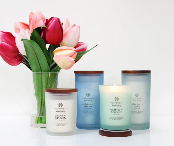 Mind and Body Health with Chesapeake Bay Candles
