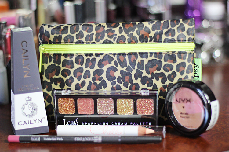 June Ipsy Glam Bag 2013 Aztec Design