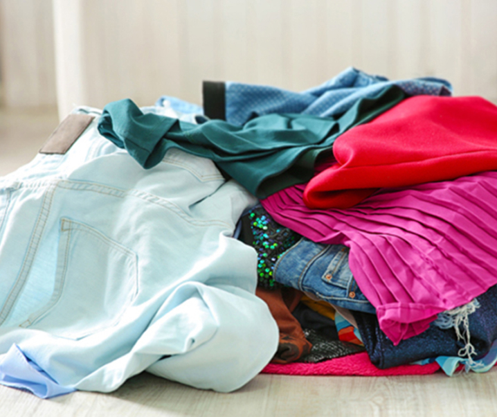 How to Reuse and Recycle Unwanted Clothes