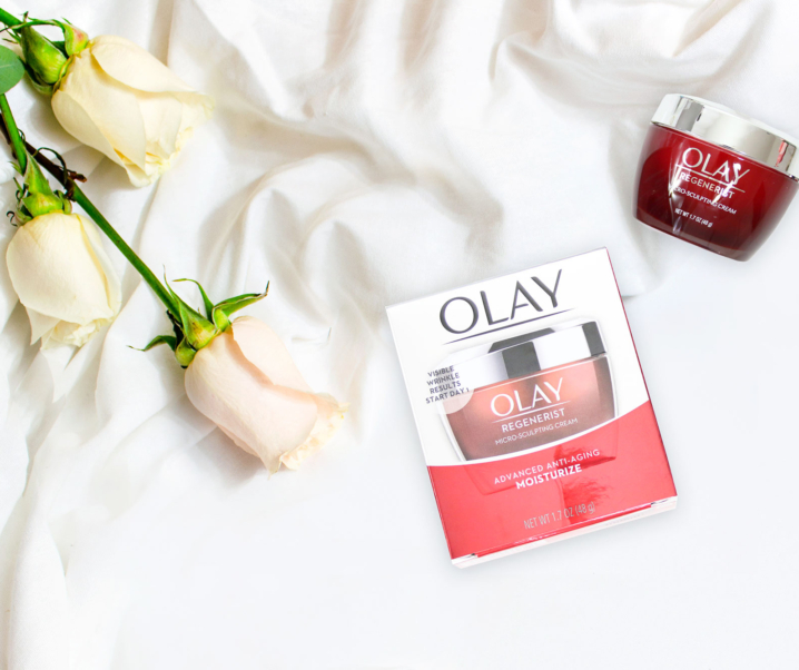 Plump it Up with Olay Regenerist Micro-Sculpting Cream