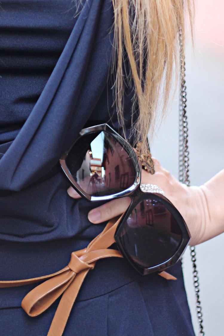 Vogue Influencer Lida Sayer Bootie Clarks