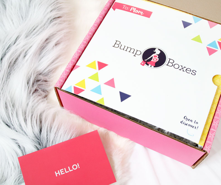 Bump Boxes – designed to pamper throughout your pregnancy!